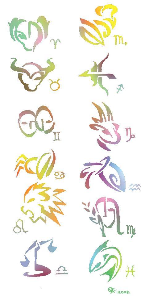 Zodiac signs ~