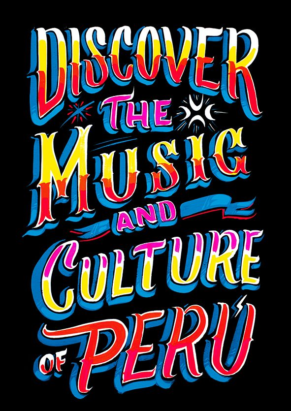 TIPOS LATINOS - Discover the Music and Culture of Perú on Behance