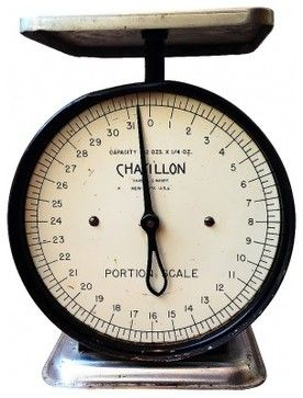 Vintage Chatillon Scale - Traditional - Kitchen Scales - vancouver ...