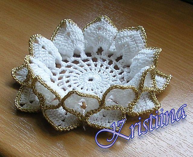 Ravelry: K-Kristiina's Crochet Coaster