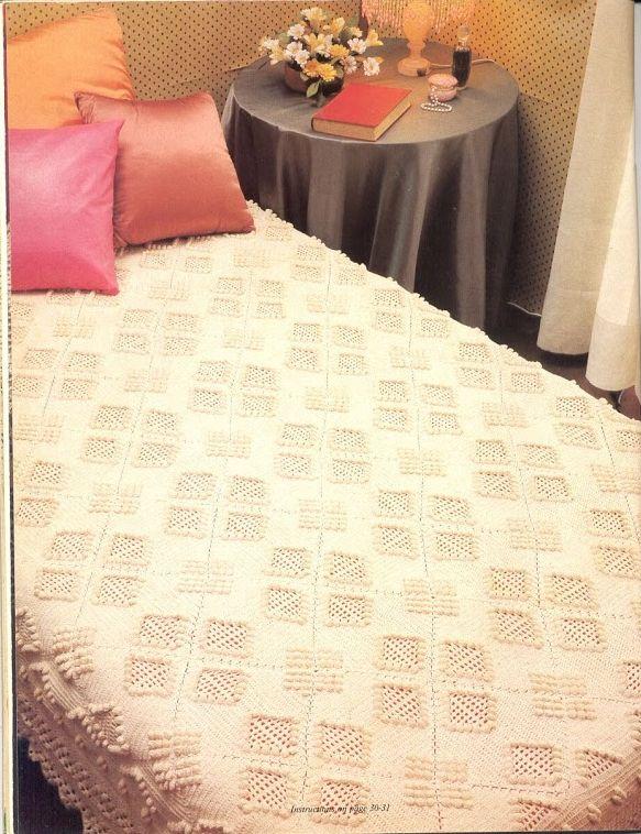 76 Best Crocheted Bedspreads Images On Pinterest Bedspread