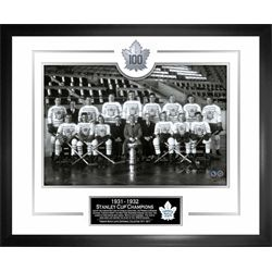Toronto Maple Leafs Framed 1931-32 Team 100th Anniversary