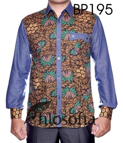 Batik printing, kombinasi bahan soft denim
