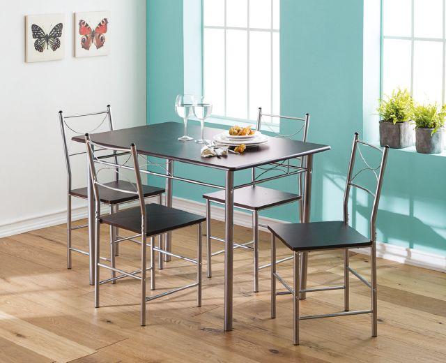 ¡Un comedor simple y funcional!  Para que todas tus reuniones y panoramas sean disfrutados como corresponde. #Comedor #Muebles #YoAmoMiCasa