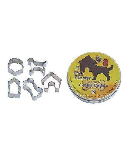 R&M Mini Dog Bone Cookie Cutter Set   zulily