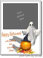 Halloween picture frames, Halloween photo frames to print | add any picture or photo to the free printable online template