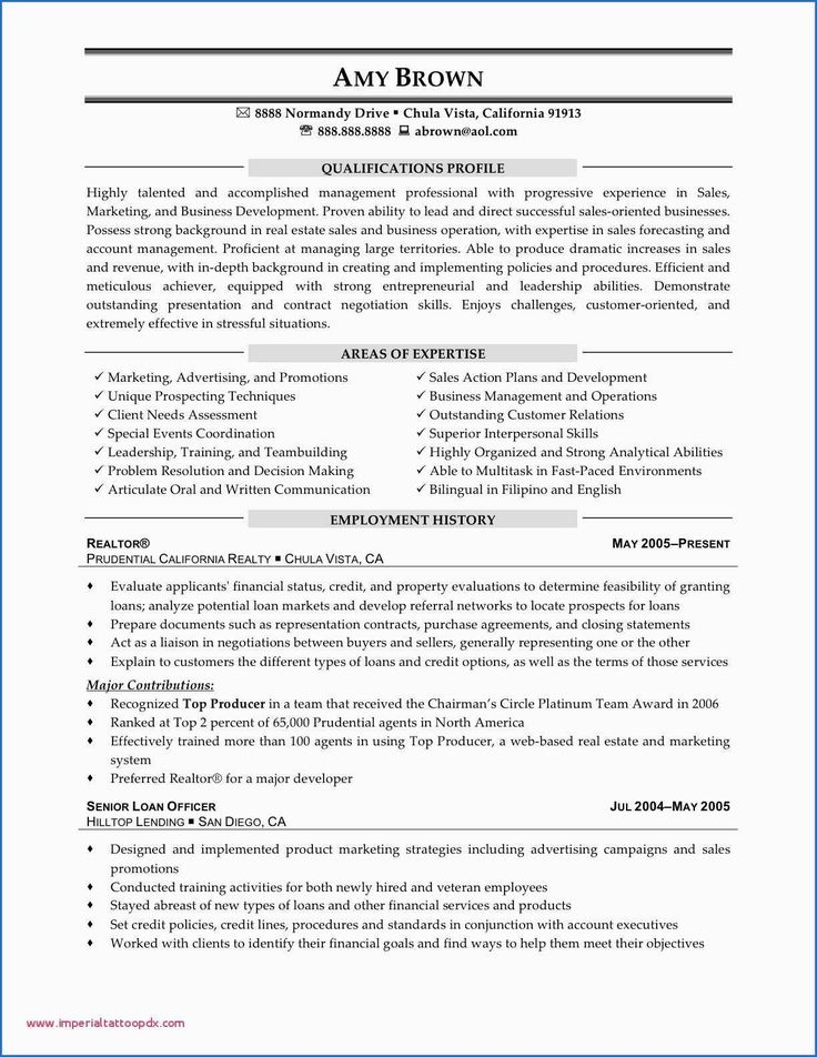 8 sample resume for sales manager in