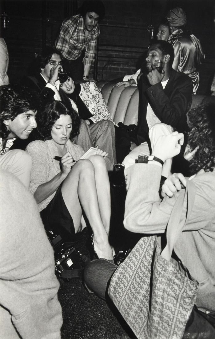 Margaret Trudeau Entertains the Paparazzi at Studio 54 1979