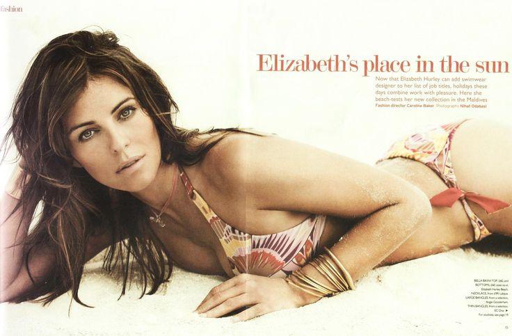 Elizabeth Hurley - You Magazine Bikini Swimwear 0001.jpg;  1984 x 1302 (@52%)
