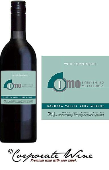 From our Gold Range of Wines, Barossa Valley Merlot with Custom Designed Label.
