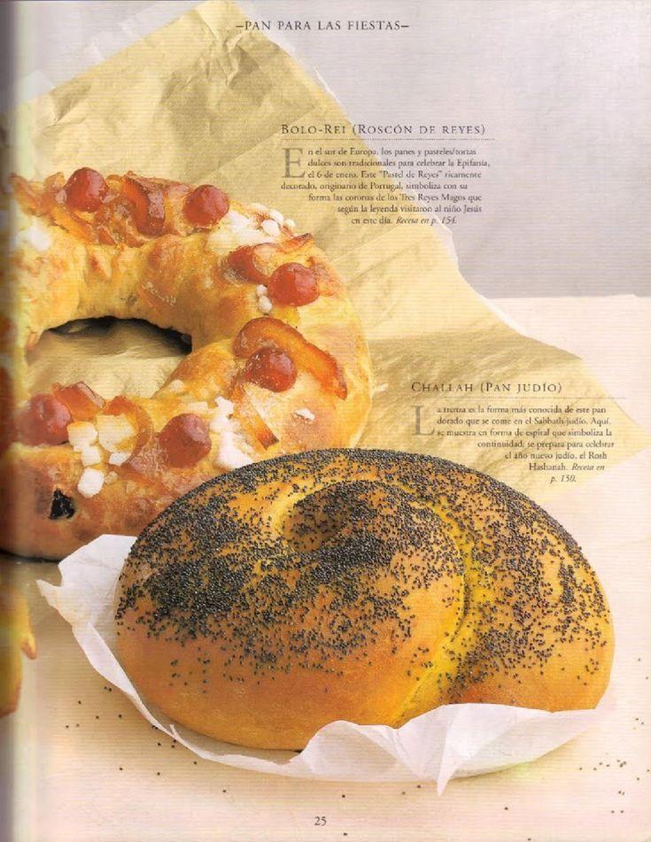 Explicación paso a paso de la elaboración del pan.
