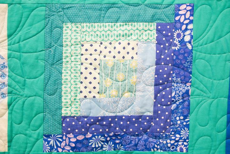 Log Cabin Block Pattern | April's Block of the Month? A traditional log cabin block! Be sure to check out our latest quilting video.