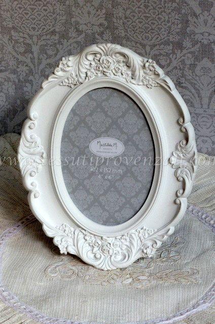 """Cornice portafotografie ovale serie """"Renaissance"""" Mathilde M."""