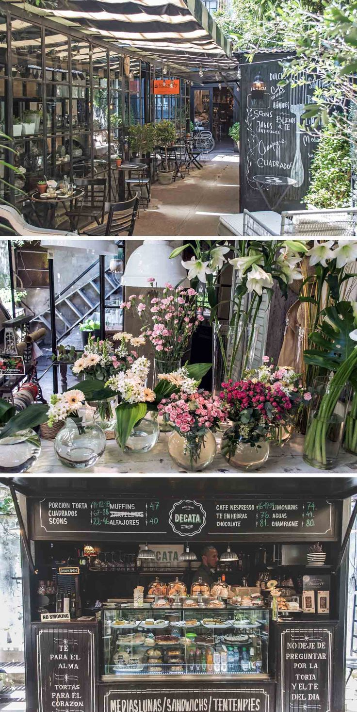 Tata Flowers and Decata Bakery at Gorriti 4865 in Palermo Viejo, Buenos Aires, Argentina | heneedsfood.com