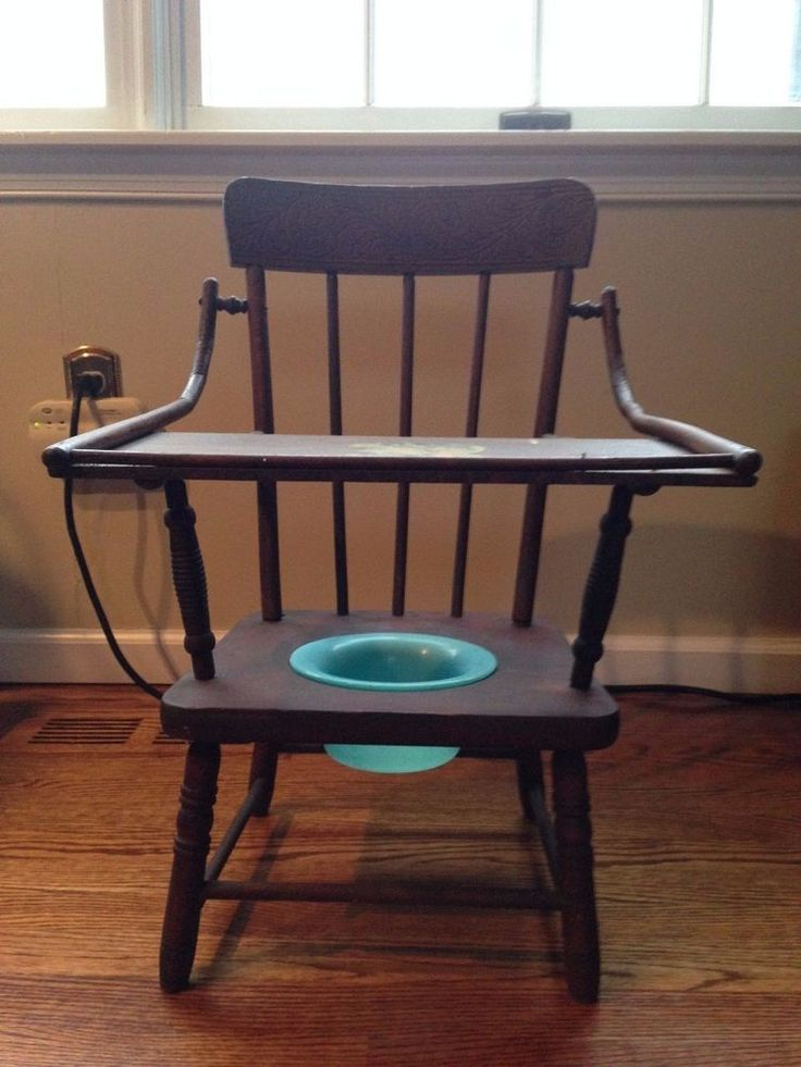 Antique Childrens Wooden Potty Chair 1900s Carved Wood | eBay - 641 Best Chamber Pots And Potty Chairs Images On Pinterest Enamels
