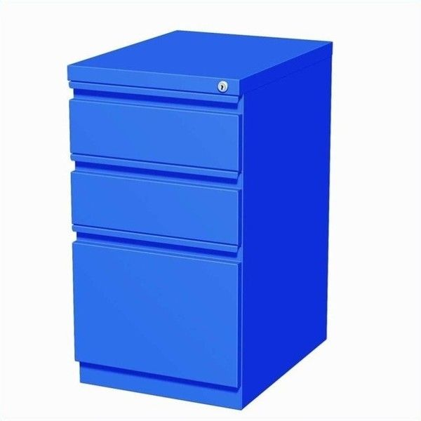 Hirsh Industries 3 Drawer Mobile File Cabinet ($137) ❤ Liked On Polyvore  Featuring Home