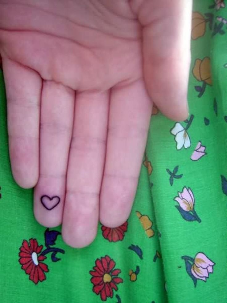 25 best ideas about heart tattoo on finger on pinterest for Tattoo tip percentage