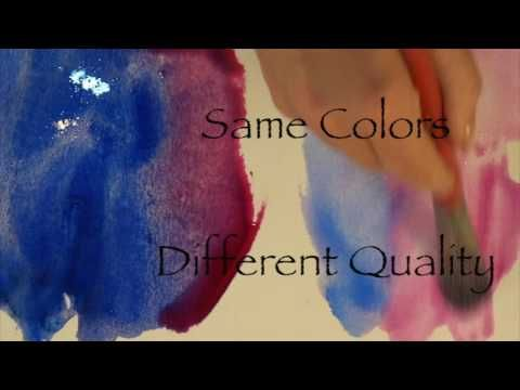 Merging Watercolor & Pastel Online -Pigments Demo - Part 2 - YouTube