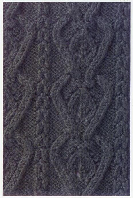 Lace Knitting Stitch #75 | Lace Knitting Stitches