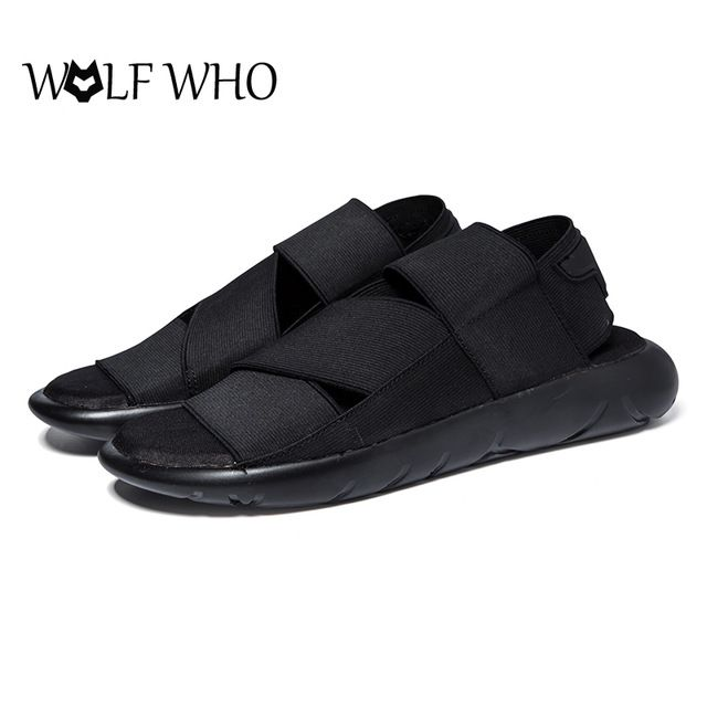 Check lastest price Hot Sale !2016 New Arrival Y3 Sandals KAOHE SANDALS Indoor Men Slippers Open-toed Leather Sandals Men Sandals Top Quality just only $13.42 - 15.25 with free shipping worldwide  #menshoes Plese click on picture to see our special price for you
