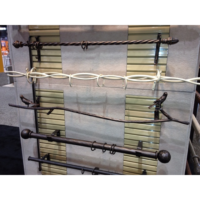 funky and unusual drapery rods look at the rod that looks like a branch with