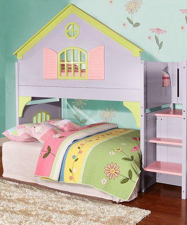 Look at this #zulilyfind! Doll House Loft Bed by Donco Kids #zulilyfinds