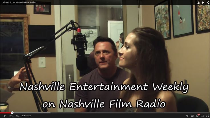 Nashville Entertainment Weekly's Jill Santibanez and TJ Cates on #Nashville #Film #Radio  #acting #tvshow #actorslife #setlife #hosting #JillSantibanez