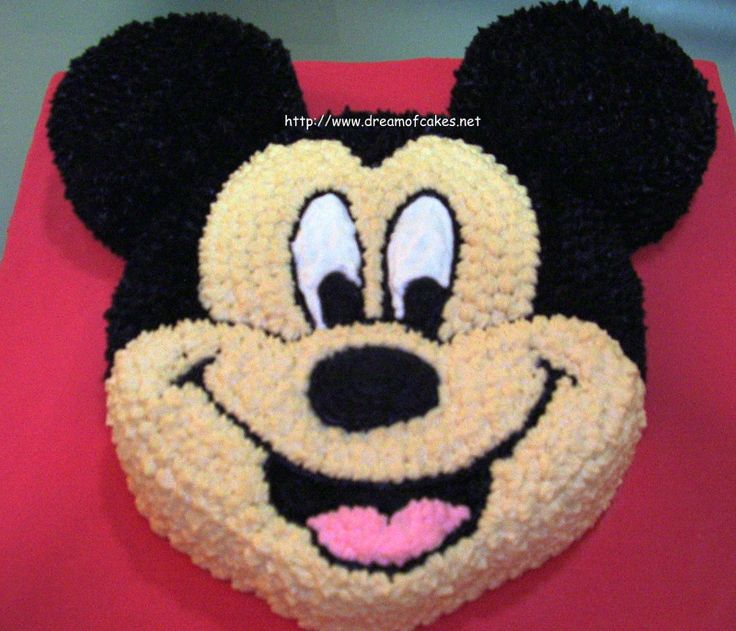 mickey mouse cake decoration | Dream of Cakes: Mickey Mouse Birthday Cake