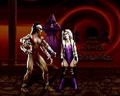 n64thstreet: Sheeva shows Sindel's skin-deep beauty in Mortal Kombat Trilogy, by Midway.