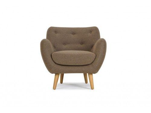 Herman, Chair, Andie sepia brown