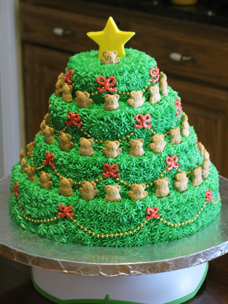 Christmas Cake Gifts: 1000+ Ideas About Tree Cakes On Pinterest