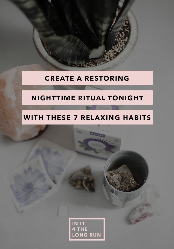 Create a Restoring Nighttime Ritual With These 7 Relaxing Habits – this post is sponsored by my friends at Aloha You're finally curled up in bed, Netflix streaming, exhausted, when you realize you forgot to take off your makeup. What's one night? Seriously. The show drags a little and without fully realizing it you've been …