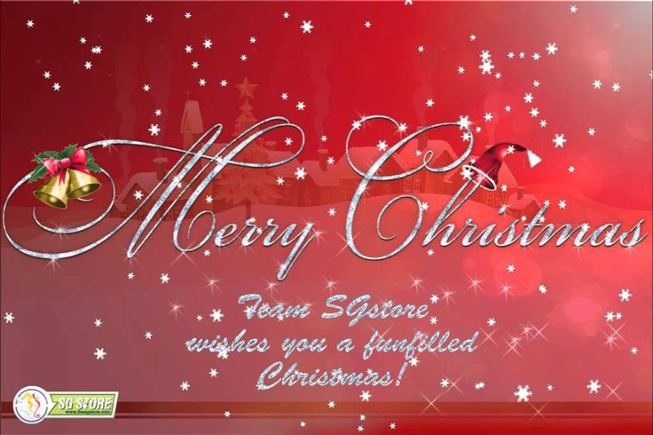 TEAM SGSTORE WISHES YOU ALL A MERRY CHRISTMAS!!!