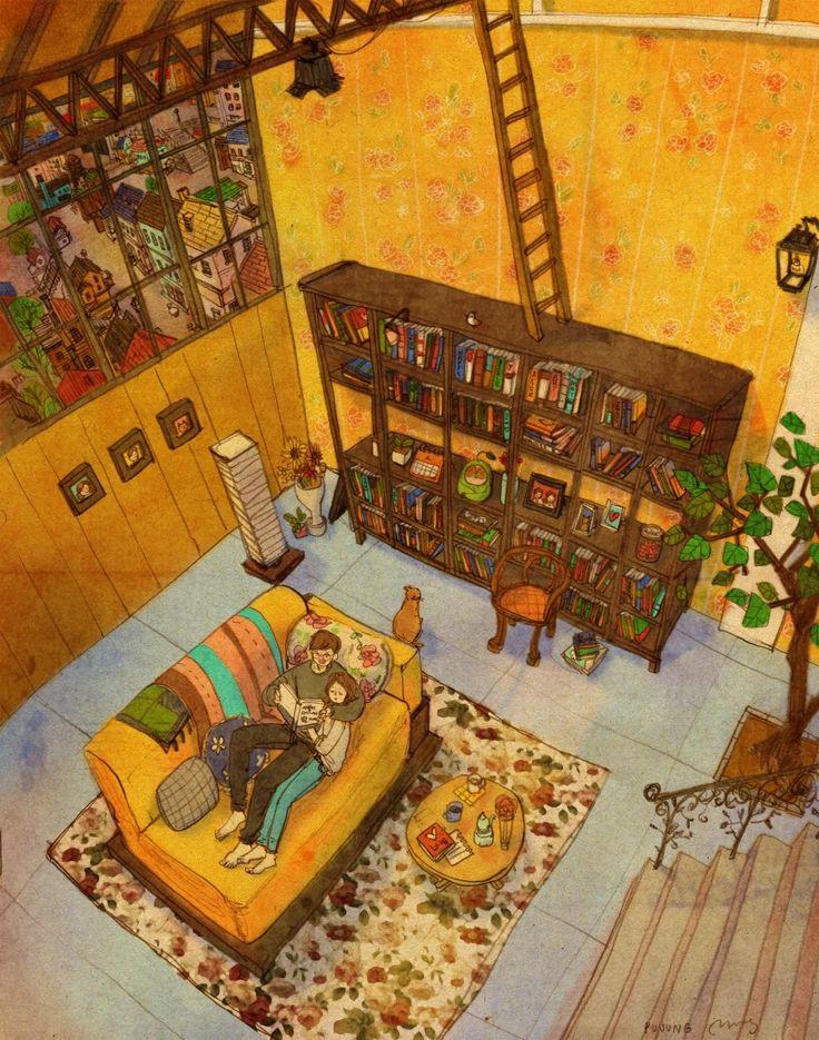 책을 읽어줘요 by 퍼엉 Creator's Playground: Grafolio