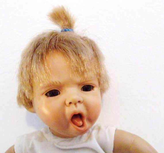 Berenguer Doll Realistic Ugly Creepy Baby Doll 8 Inch