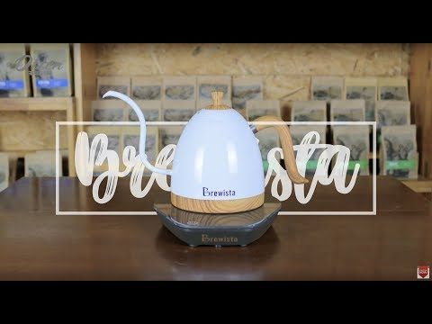 The Brewista Artisan Gooseneck Kettle is a stylish and functional variable temperature kettle with a pour over designed spout for…