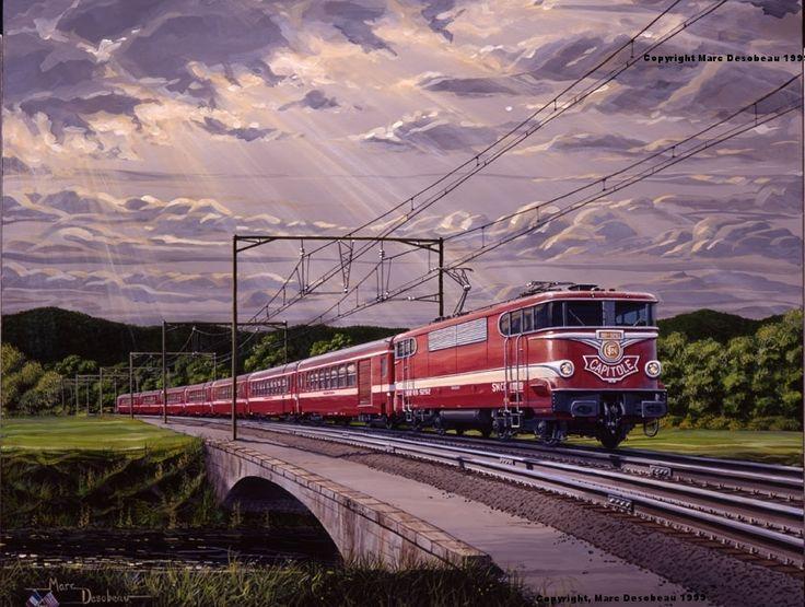 Le-Capitole-for-Web - Railroad Art by Marc Desobeau