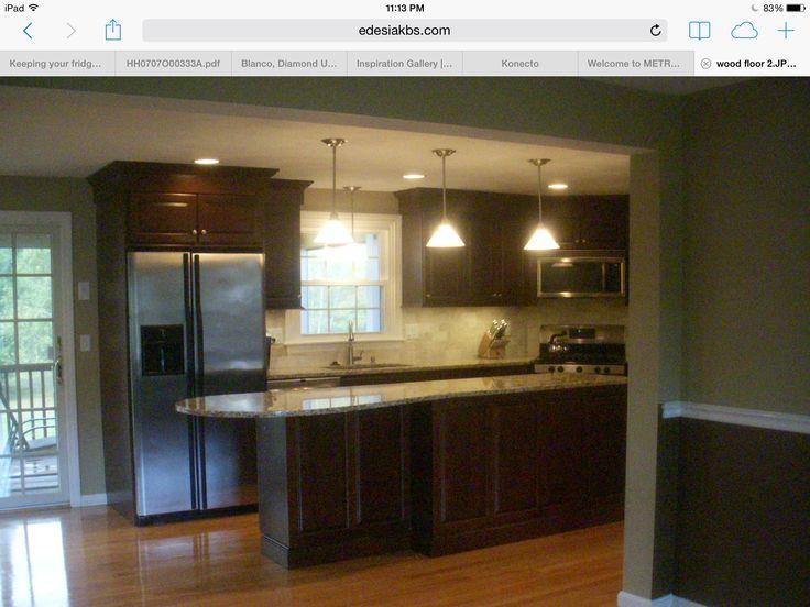 Light And Dark Kitchen Cabinets