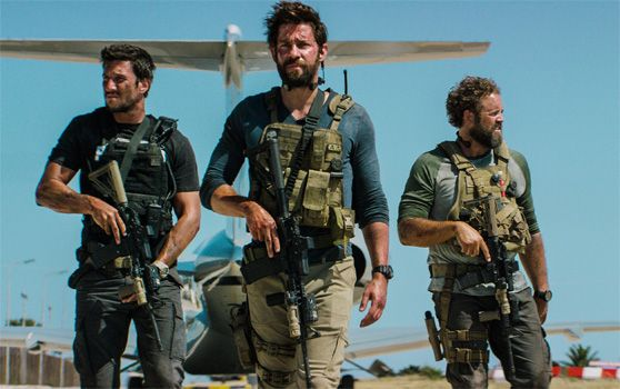 John Krasinski and Pablo Schreiber star in 13 Hours: The Secret Soldiers of Benghazi - a film you NEED to see if you love America and want to know what really happened September 11th, 2012 in Libya.