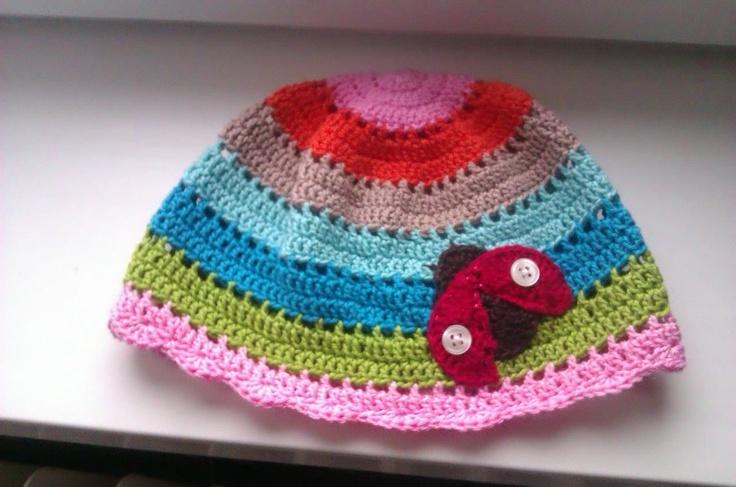 Fifi's ladybug hat
