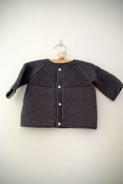 * Baby Yoke Cardi free pattern