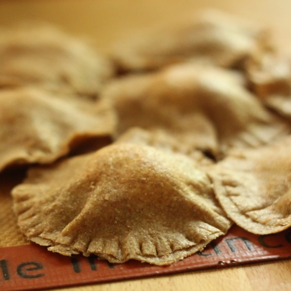 100% Whole Grain Caprese Ravioli | Texanerin Baking
