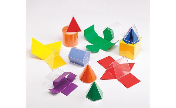 Géofigures repliables en 3D - Brault & Bouthillier