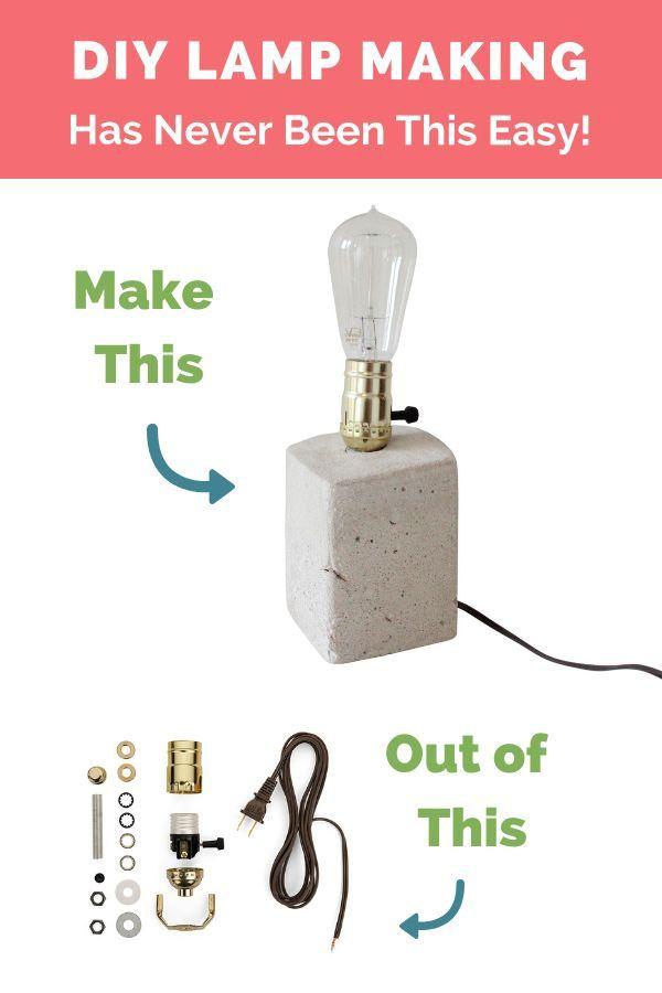 Lamp Wiring Kit Antique Brass Brown Make A Lamp Lamp Cord Lamp