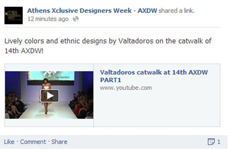 Lively colors and ethnic designs by Valtadoros on the catwalk of 14th AXDW!