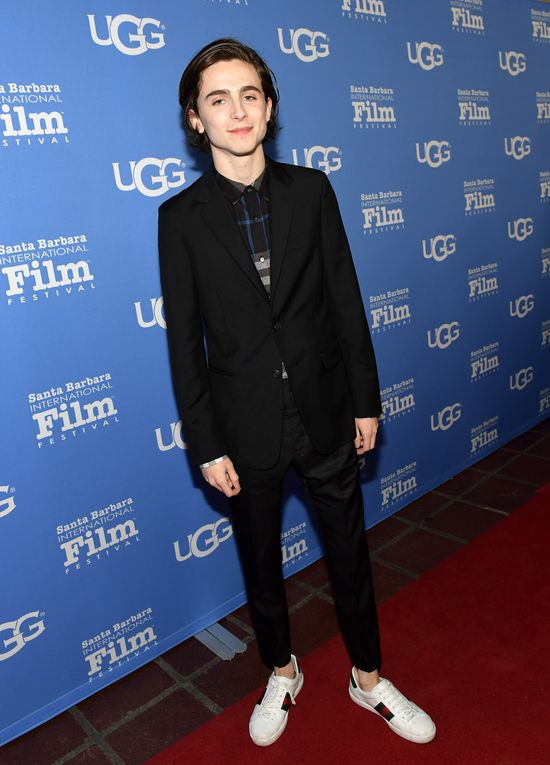 80983e6e1357b8 Timothée Chalamet at the Santa Barbara International Film Festival in Santa  Barbara, California