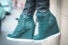 zapatillas azul petroleo