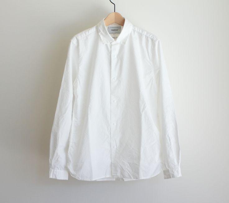 "f-clothing: ""YAECA / COMFORT SHIRT STANDARD color : white """