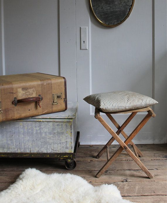Purchased Vintage Camp Stool From One Of My Favorite Etsy Shops Ethanollie