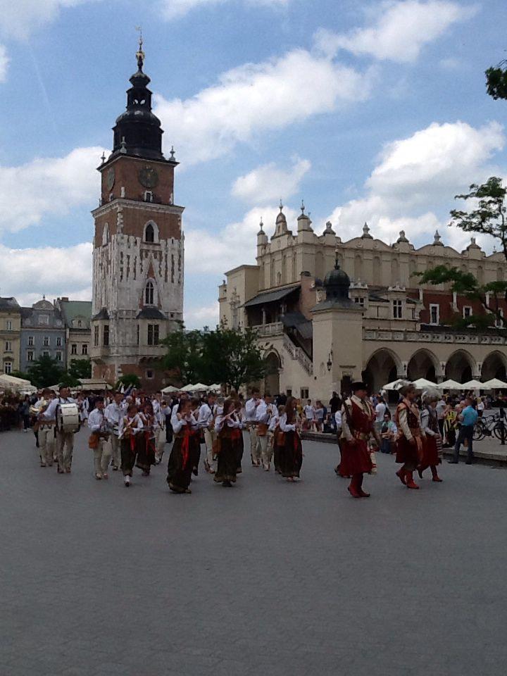 Krakow, Polen, juni 2016